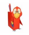 Sinterklaas papegaai zelf maken knutselpakket