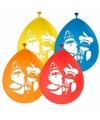 Sinterklaas sint en piet ballonnen 8 stuks