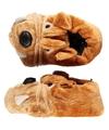 Sloffen pantoffels bulldog voor kinderen mt 35 36