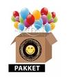 Smiley feest pakket