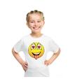 Smiley t shirt super verliefd wit kinderen