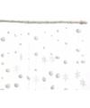 Sneeuwbal sneeuwvlok gordijn 90 x 200 cm