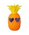 Spaarpot oranje ananas 19 cm