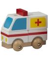 Speelgoed ambulance hout 9 cm