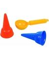Speelgoed ijs zandvormen 3 delig