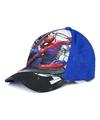 Spiderman pet cap blauw voor kinderen