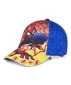 Spiderman pet cap vlammen blauw voor kinderen