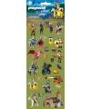 Stickervel playmobil ridders