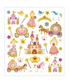 Stickervel prinsessen 32 stuks