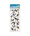 Stickervel roofvogels