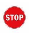 Stopbord stickers 15 cm