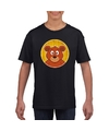 T shirt beer zwart kinderen