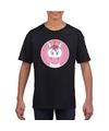 T shirt eenhoorn zwart kinderen