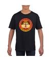 T shirt hond zwart kinderen