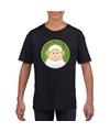 T shirt lammetje zwart kinderen