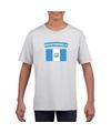 T shirt met guatemalaanse vlag wit kinderen