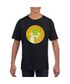 T shirt slang zwart kinderen