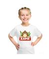 T shirt voor kinderen met aapie het aapje
