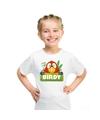 T shirt voor kinderen met birdy de papegaai