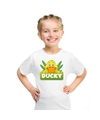 T shirt voor kinderen met ducky de eend