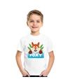 T shirt voor kinderen met foxy de vos