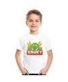 T shirt voor kinderen met kroky de krokodil