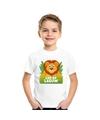 T shirt voor kinderen met leo de leeuw