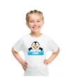 T shirt voor kinderen met mister cool de pinguin
