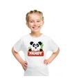 T shirt voor kinderen met pandy de panda