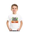 T shirt voor kinderen met tommy the cat