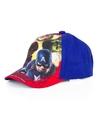 The avengers pet cap blauw voor kinderen