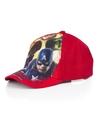 The avengers pet cap rood voor kinderen