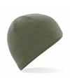 Thermo microfleece muts olijf groen voor dames