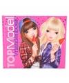 Topmodel roze vriendinnenboek