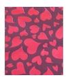 Valentijnsdag cadeaupapier met rode harten 70 x 200 cm