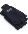 Vingerloze thinsulate handschoenen zwart