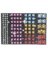 Vlinder diamant strass stickertjes 120 stuk