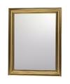 Wandspiegel met gouden sierlijst 30 x 40 cm