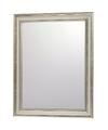 Wandspiegel met zilveren sierlijst 30 x 40 cm