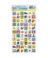 Winnie de poeh stickervel 66 stickers