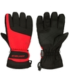 Winter handschoenen starling rood zwart voor volwassenen