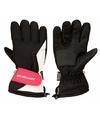 Winter handschoenen starling zwart roze voor dames