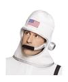 Witte astronauten helm voor volwassenen