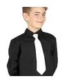 Witte stropdas voor kinderen