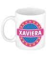 Xaviera naam koffie mok beker 300 ml