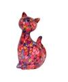 Xl spaarpot kat poes type 4 30 cm