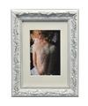 Zilver fotolijstje barok 13 x 18 cm