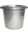 Zilveren zinken drankemmer drankkoeler 37 liter