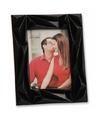 Zwart fotolijstje abstract 19 x 24 cm