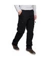 Zwarte cargo pantalon voor heren